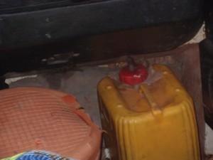 DEPÓSITO DE GASOLINA MADE IN GAMBIA