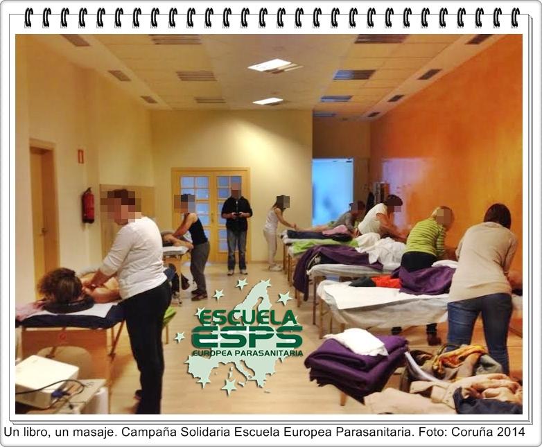 día del libro solidario en la Escuela Europea Parasanitaira